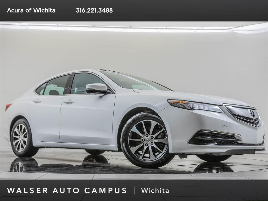 Pre-Owned 2015 Acura TLX 100K Manufacturer Warranty