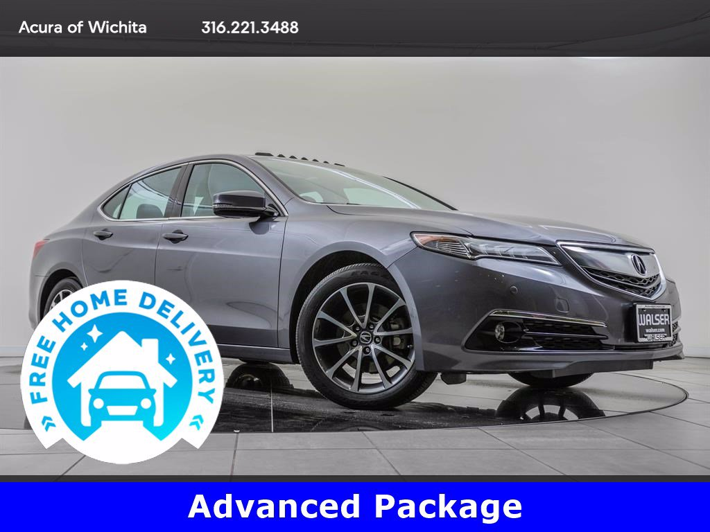Pre-Owned 2017 Acura TLX Advanced Package