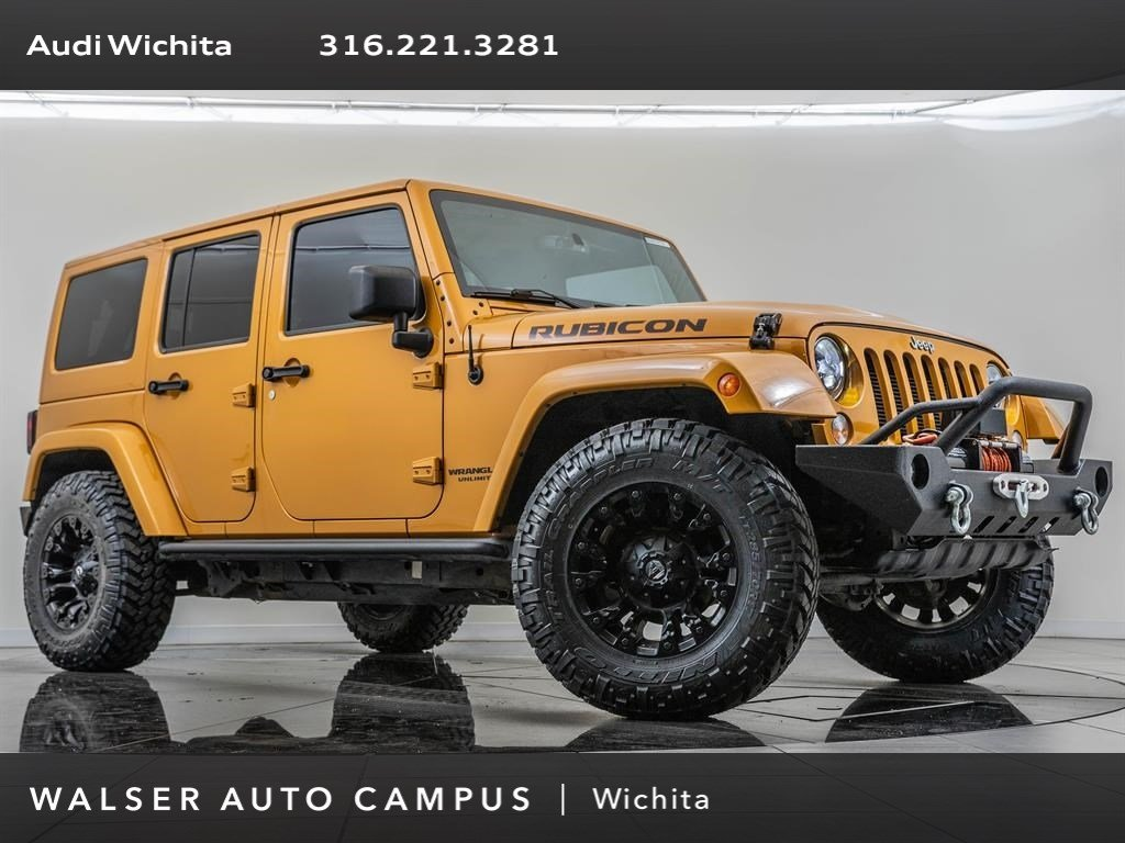 Pre-Owned 2014 Jeep Wrangler Unlimited Unlimited Rubicon
