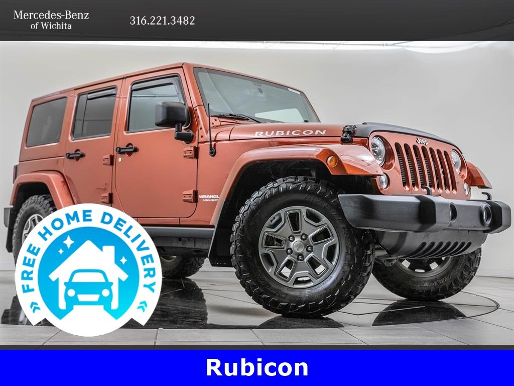 Pre-Owned 2014 Jeep Wrangler Unlimited Unlimited Rubicon, Connectivity Group