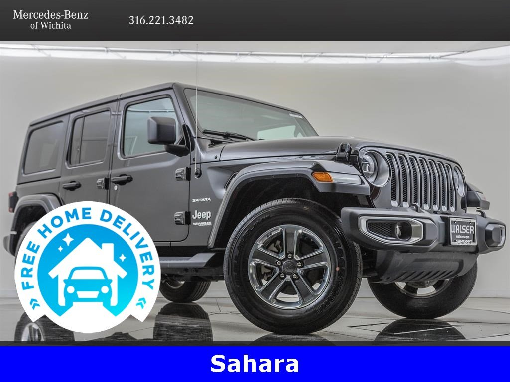 Pre-Owned 2018 Jeep Wrangler Unlimited Cold Weather, LED Lighting Packages
