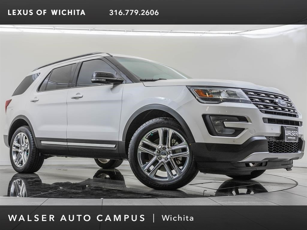 Pre-Owned 2017 Ford Explorer XLT, Factory Wheel Upgrade, Tech Package
