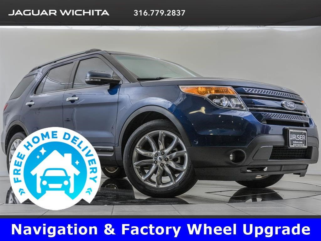 Pre-Owned 2012 Ford Explorer Factory Wheel Upgrade, Navigation, Rapid Spec 302A