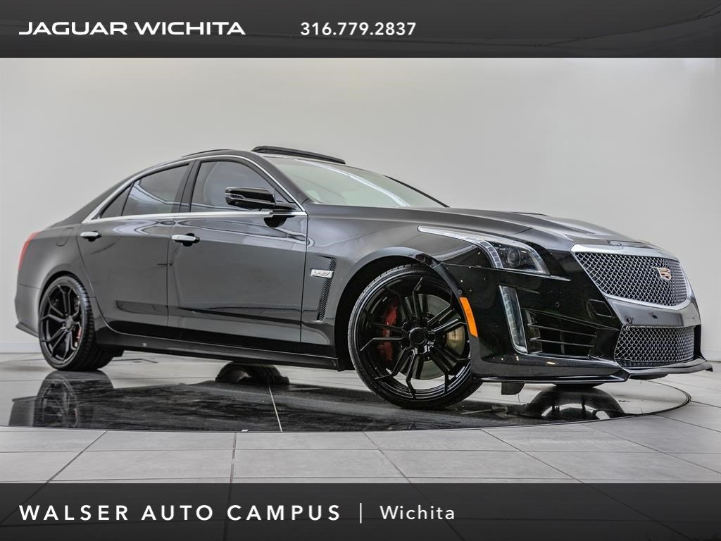 Pre-Owned 2017 Cadillac CTS-V Sedan