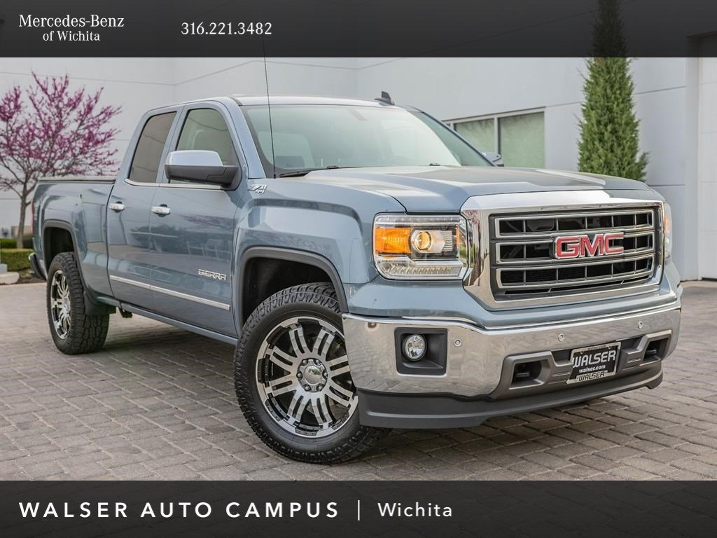 Pre-Owned 2015 GMC Sierra 1500 SLT, Local 1-Owner