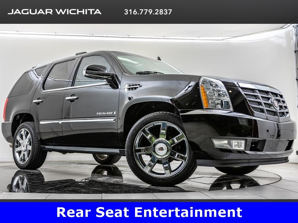 Pre-Owned 2009 Cadillac Escalade Ultra Luxury Pkg, Rear Entertainment