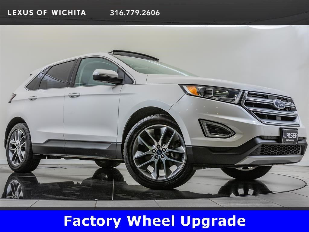 Pre-Owned 2015 Ford Edge Titanium, Factory Wheel Upgrade