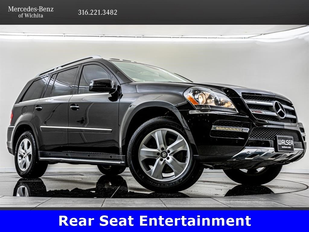 Pre-Owned 2012 Mercedes-Benz GL-Class GL450 4MATIC®, Premium 1 Package