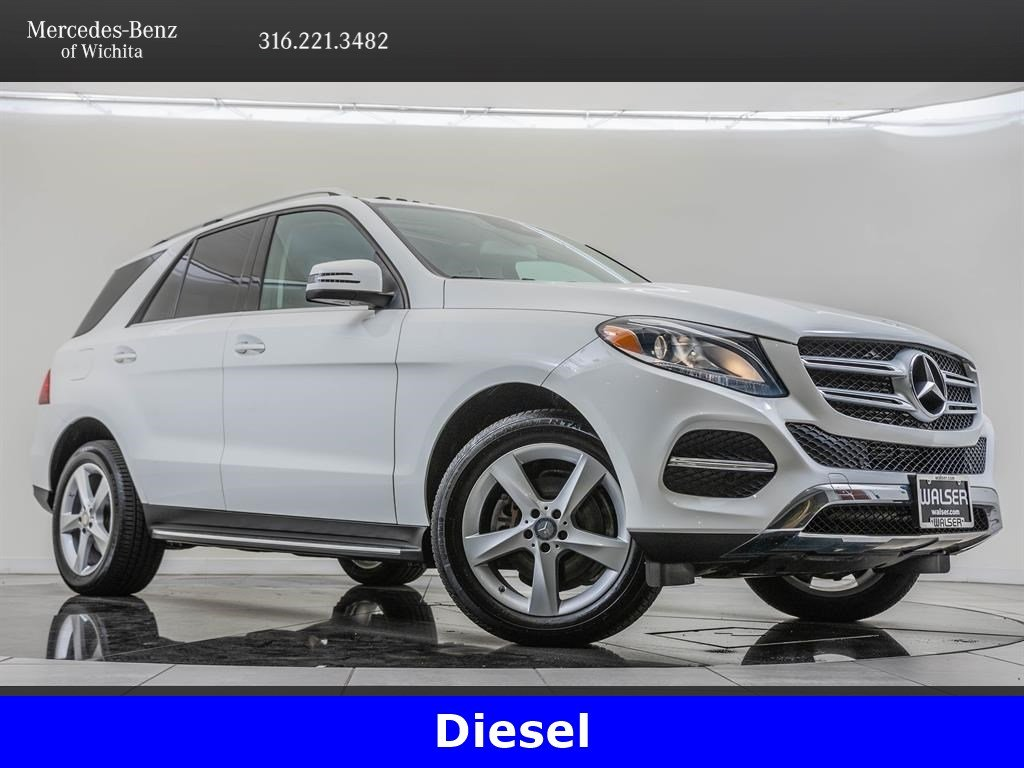 Pre-Owned 2016 Mercedes-Benz GLE GLE 300d 4MATIC®, Navigation, Premium 1 Package