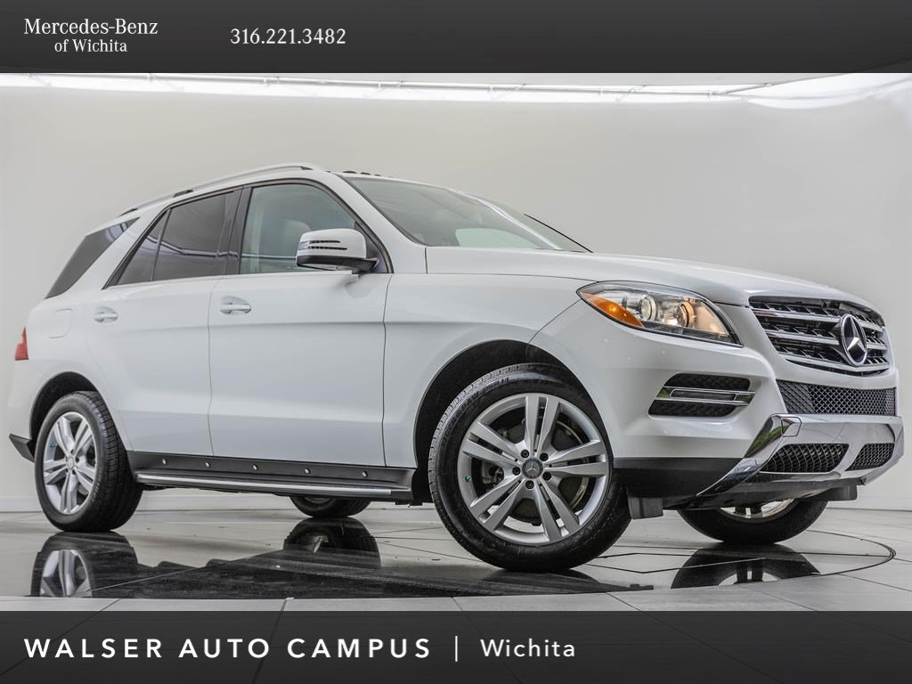 Pre-Owned 2014 Mercedes-Benz M-Class ML350 4MATIC®, Premium 1 Package