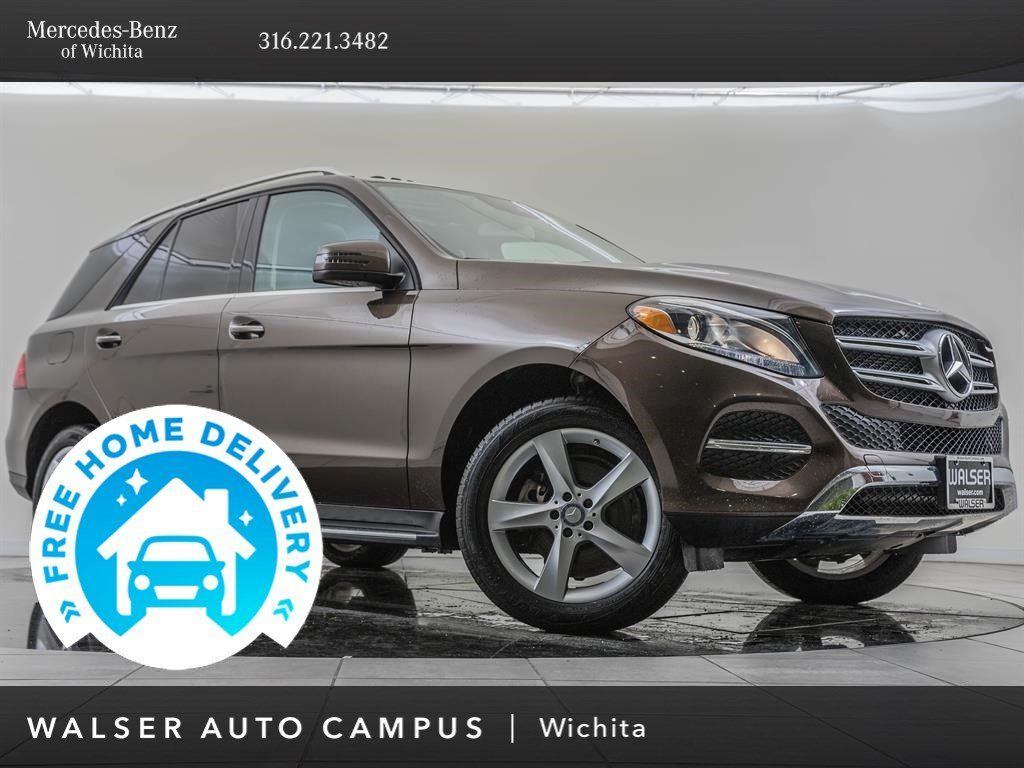 Pre-Owned 2016 Mercedes-Benz GLE GLE 350 4MATIC®, Premium 1, Lane Tracking