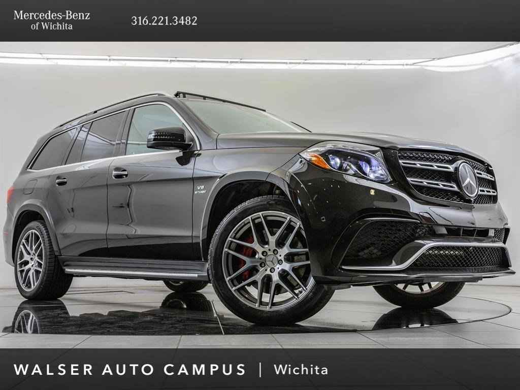 Pre-Owned 2018 Mercedes-Benz GLS GLS 63 AMG®, 21-Inch AMG® Wheels, 577HP