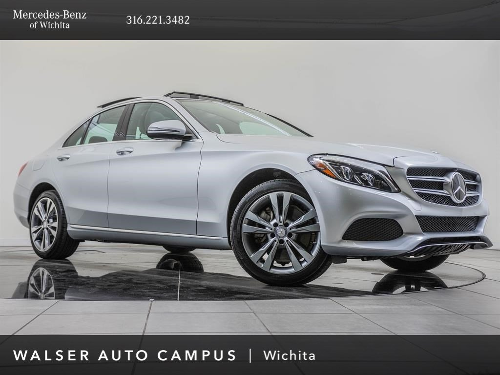 Pre-Owned 2017 Mercedes-Benz C-Class C 300 Sport 4MATIC®, Premium 4 Package