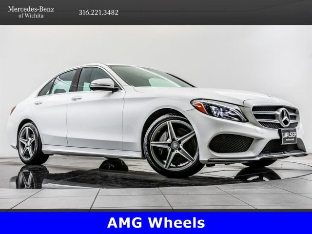 Pre-Owned 2016 Mercedes-Benz C-Class C 300 Sport 4MATIC, AMG® Sport Pkg