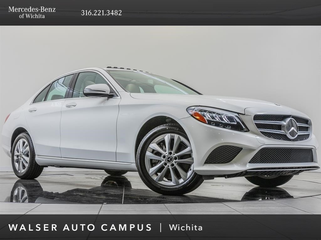 Pre-Owned 2019 Mercedes-Benz C-Class C 300 4MATIC®, Premium Package