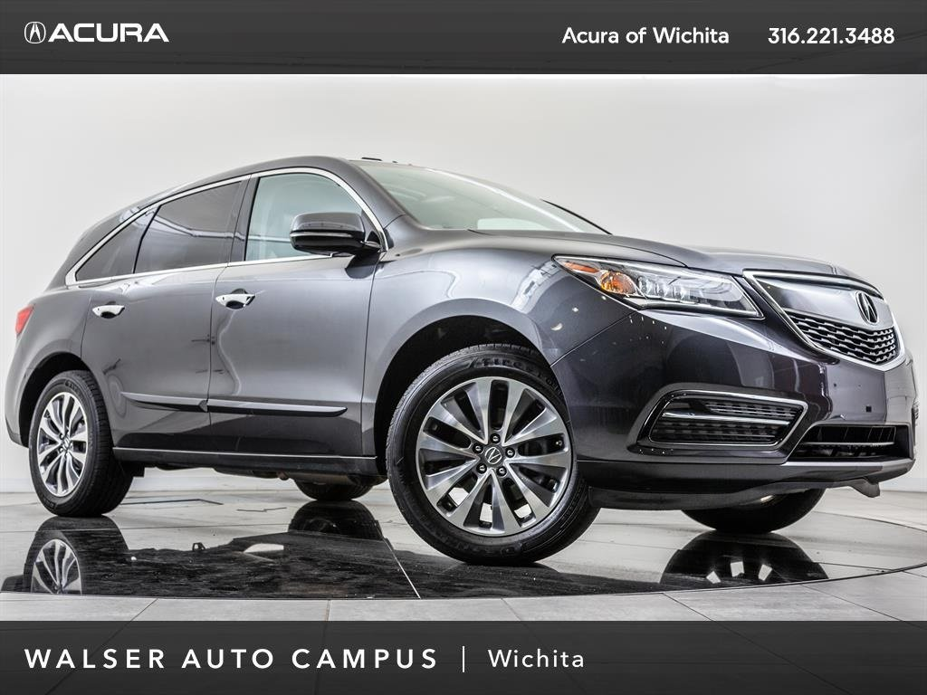 PreOwned Acura MDX Technology Package Navigation Moonroof - Acura mdx pre owned