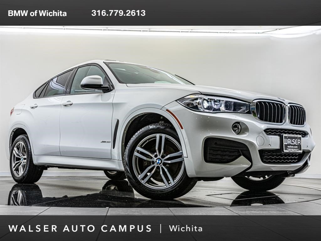 Pre-Owned 2018 BMW X6 xDrive35i, M Sport Package