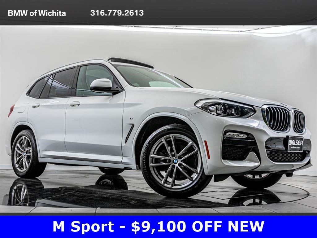 Pre-Owned 2019 BMW X3 xDrive30i, M Sport, Premium Package