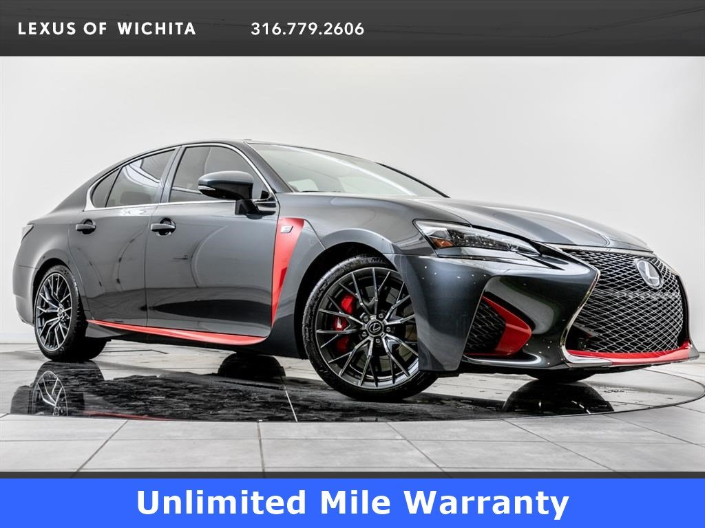 Certified Pre-Owned 2017 Lexus GS F 467HP, Navigation, 19-inch Wheels