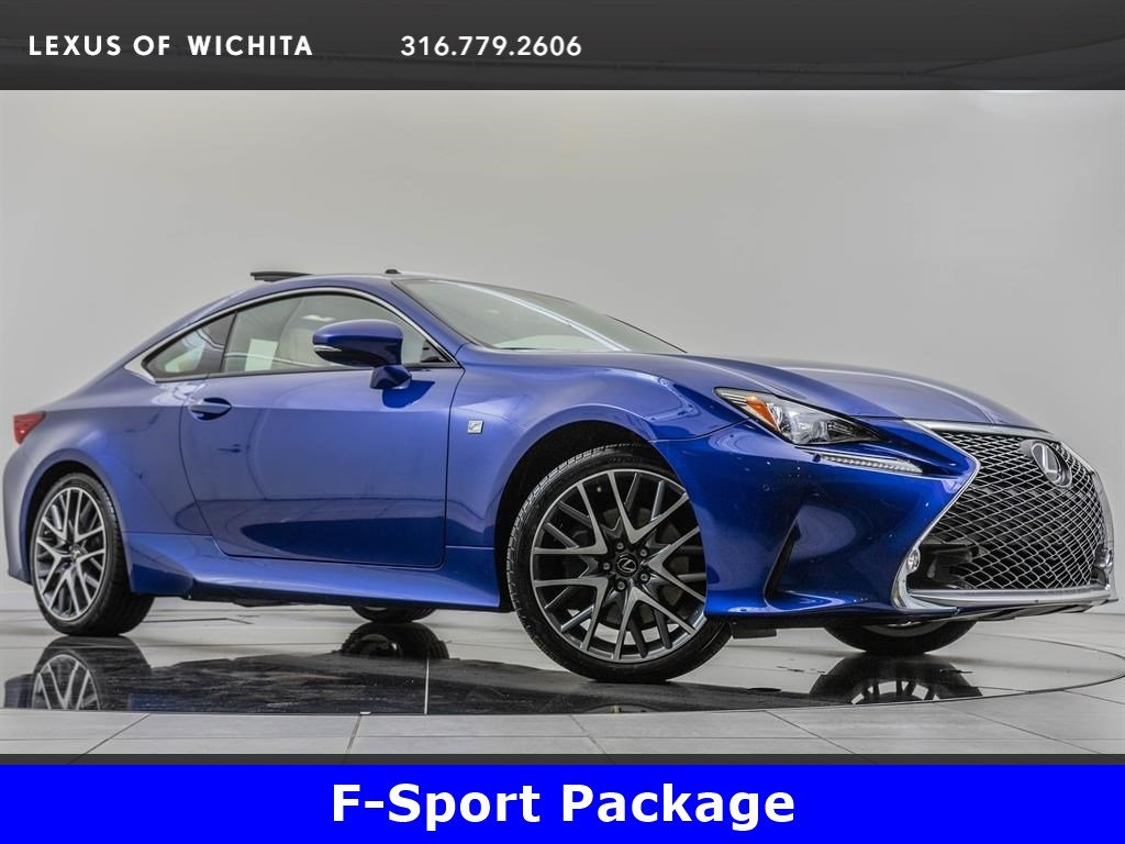 Pre-Owned 2016 Lexus RC 300 F-Sport, Navigation