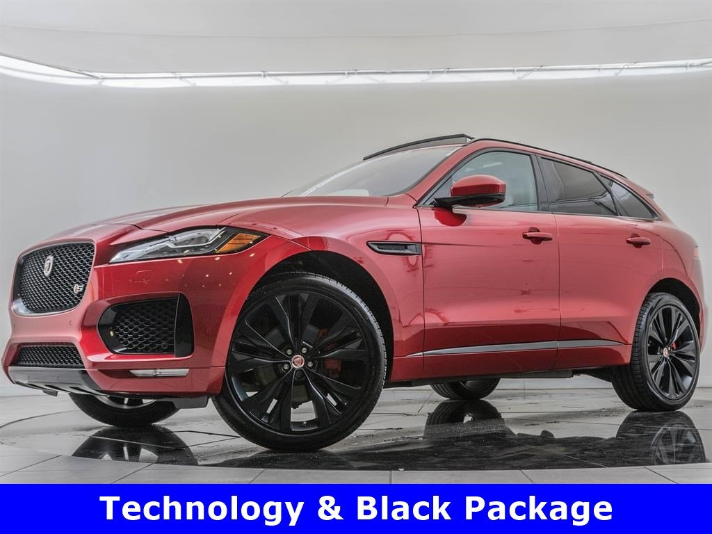 Pre-Owned 2017 Jaguar F-PACE Technology Package