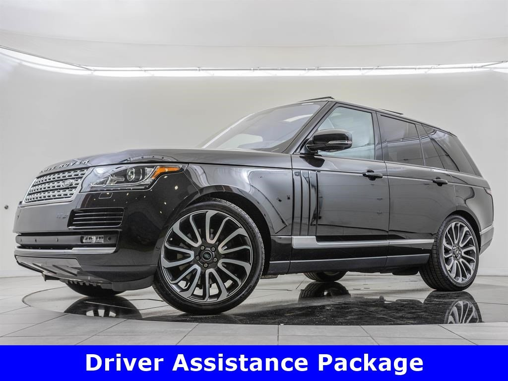 Pre-Owned 2016 Land Rover Range Rover Supercharged, Driver Assistance Package