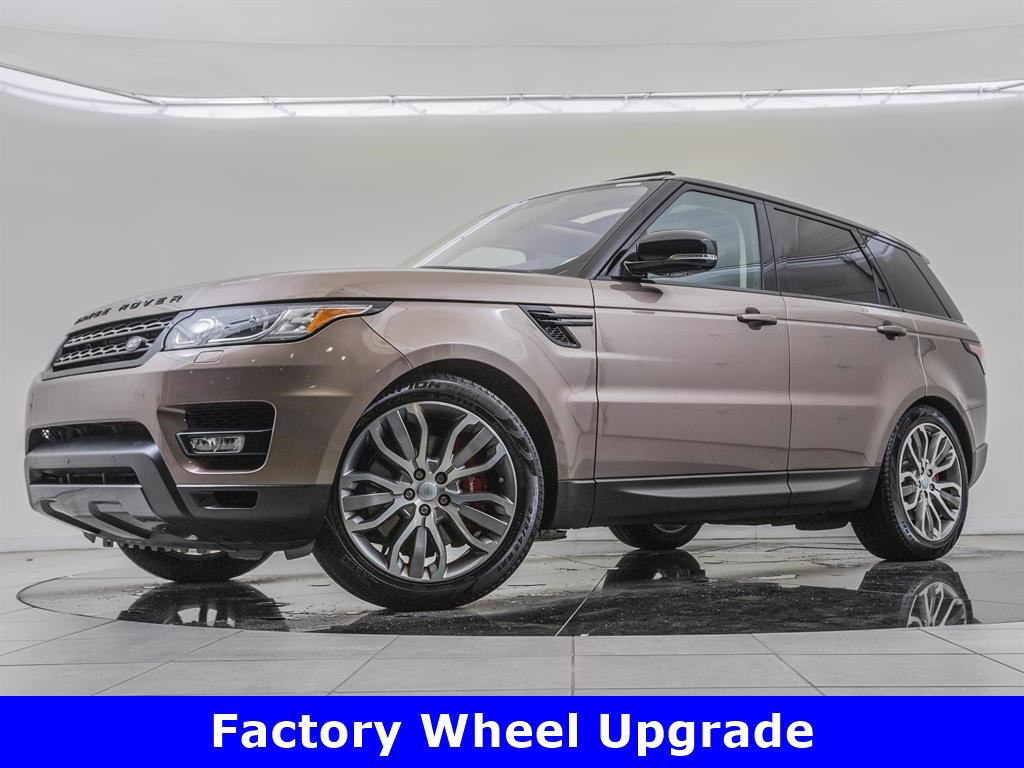 Pre-Owned 2017 Land Rover Range Rover Sport Factory Wheel Upgrade, Vision & Convenience