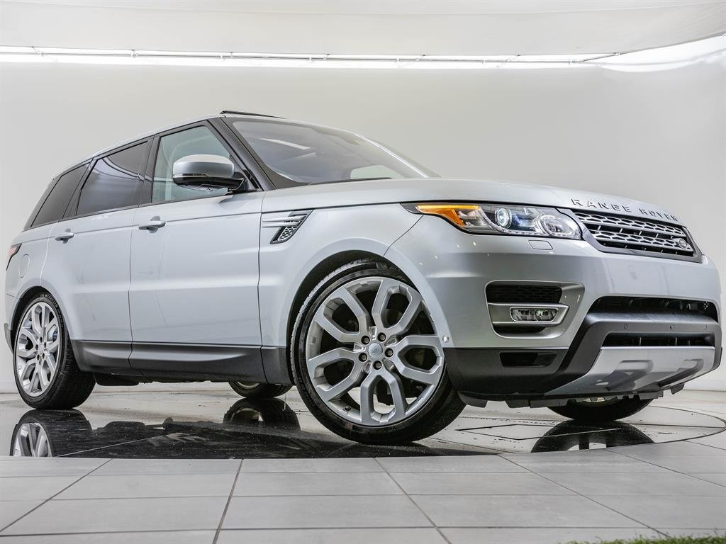 Pre-Owned 2016 Land Rover Range Rover Sport HSE, 1-Owner, 22-inch Wheels