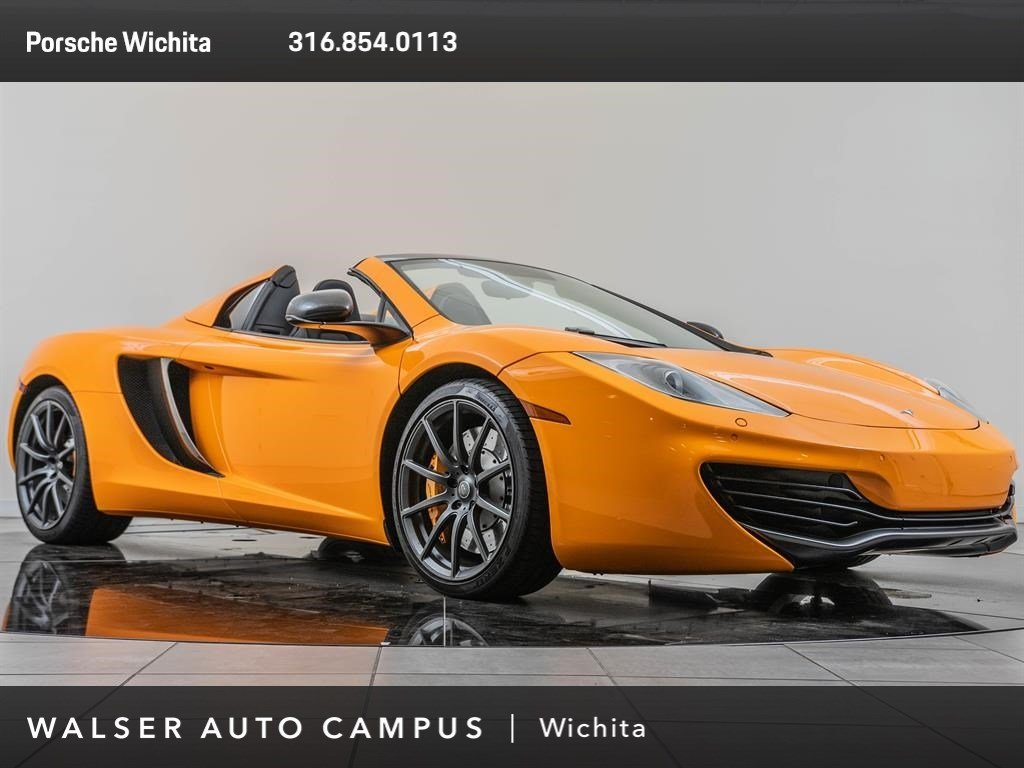 Pre-Owned 2013 MCLAREN MP4-12C COUPE