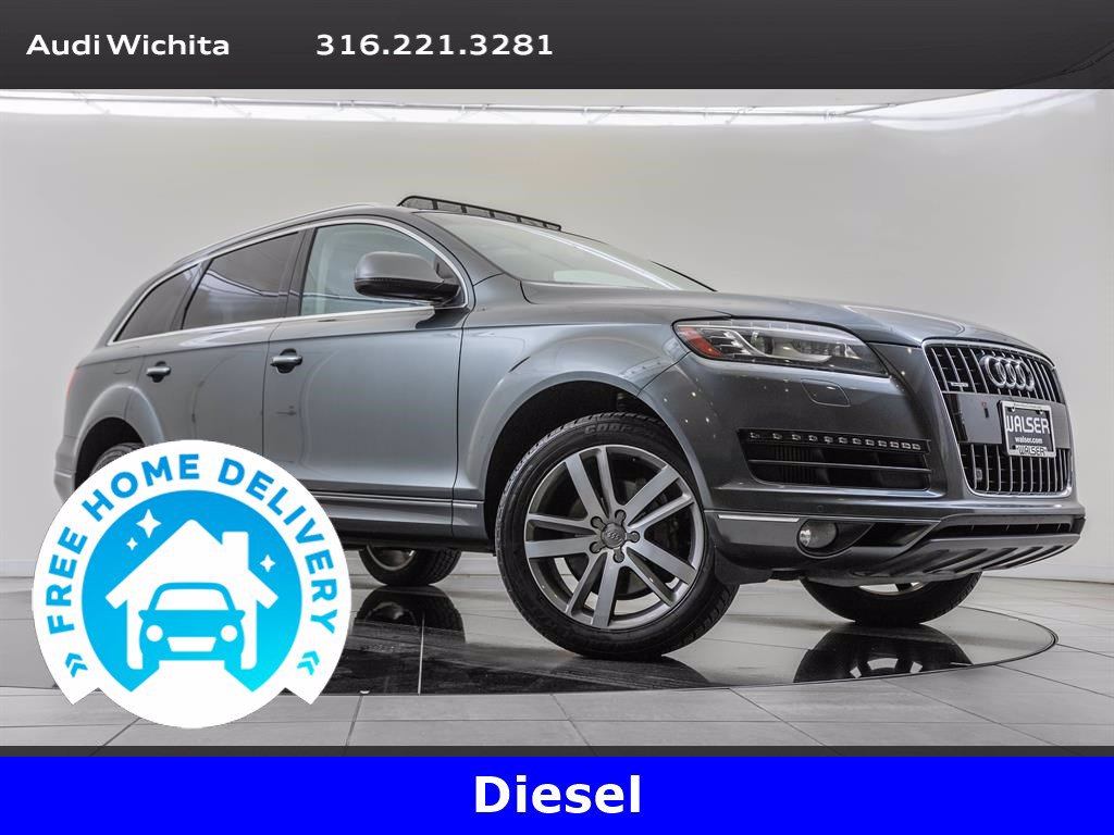 Pre-Owned 2015 Audi Q7 3.0 TDI Premium Plus Package