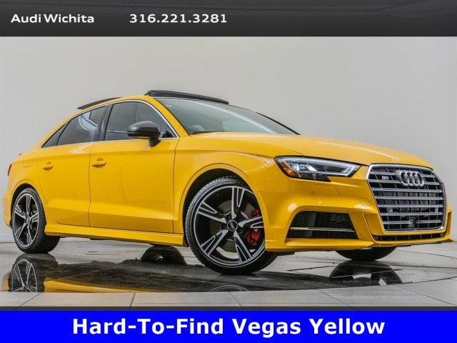 Pre-Owned 2017 Audi S3 2.0 TFSI Premium Plus quattro, Rare Vegas Yellow