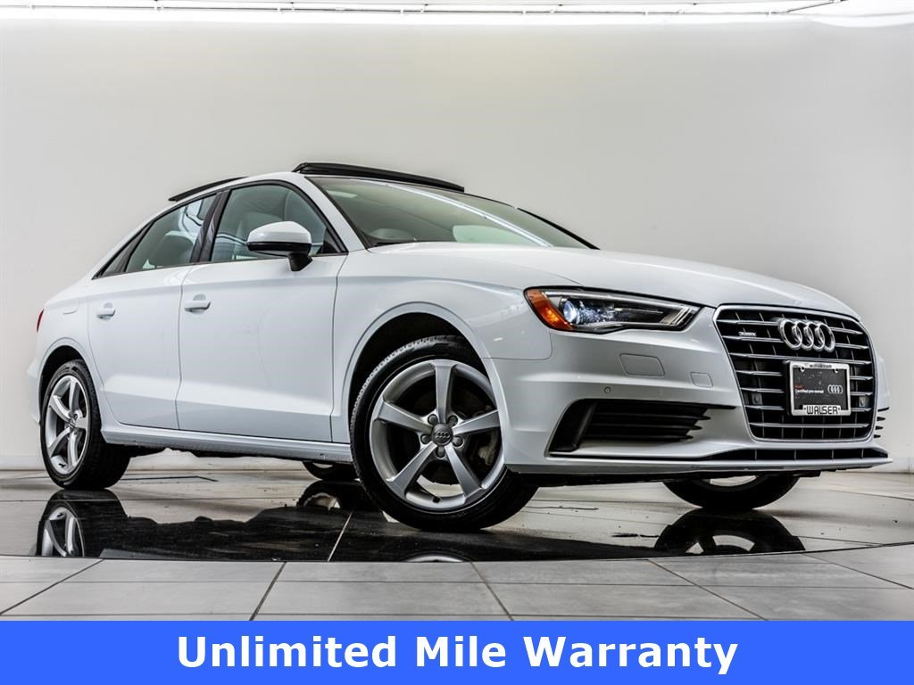 Pre-Owned 2016 Audi A3 2.0 TFSI Premium quattro, Unlimited Mile Warranty