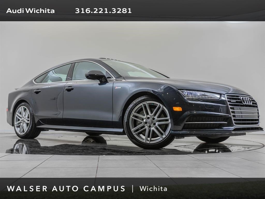 Pre-Owned 2017 Audi A7 Navigation, S-Line Sport & Cold Weather