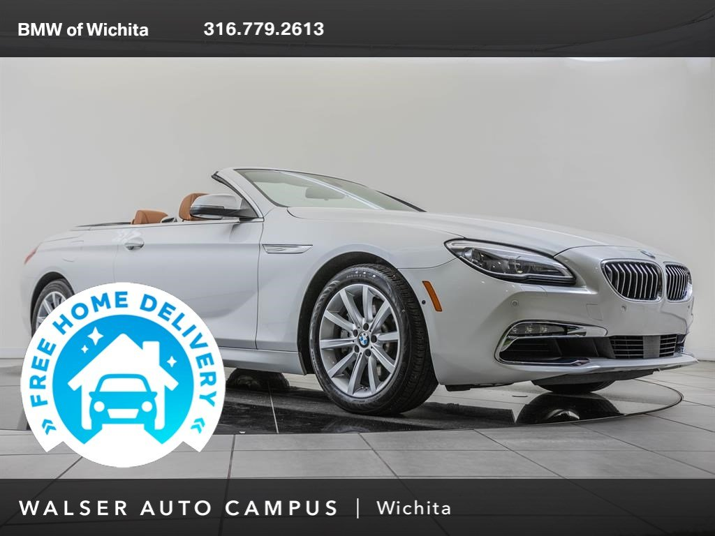 Pre-Owned 2017 BMW 6 Series Driving Assistance Package