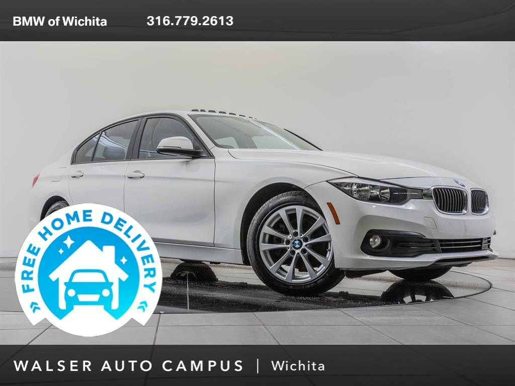 Pre-Owned 2017 BMW 3 Series Moonroof