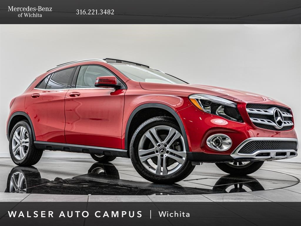 Pre-Owned 2019 Mercedes-Benz GLA 2019 MERCEDES-BENZ GLA 250 (A7) 4DR SUV 106.3 WB