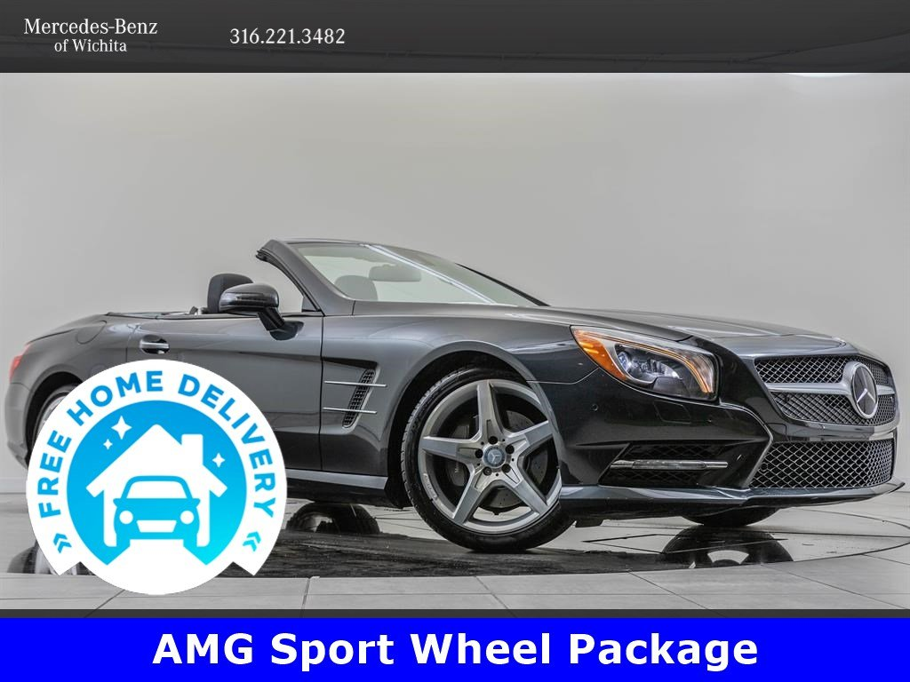 Pre-Owned 2016 Mercedes-Benz SL Driver Assistance Package