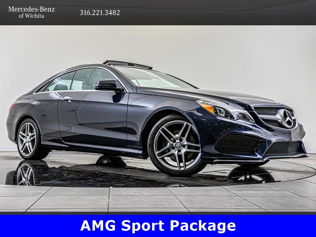Pre-Owned 2017 Mercedes-Benz E-Class E 400 4MATIC, AMG® Sport Package, Premium 2 Package