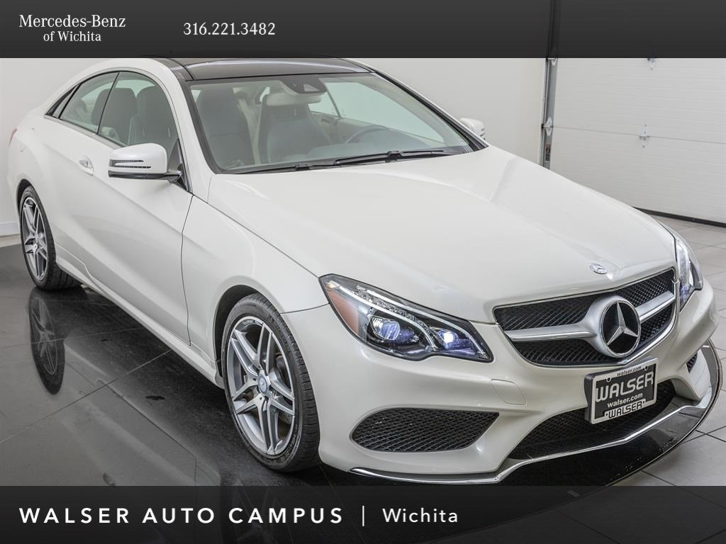 Pre-Owned 2017 Mercedes-Benz E-Class AWD 4MATIC 2dr Car