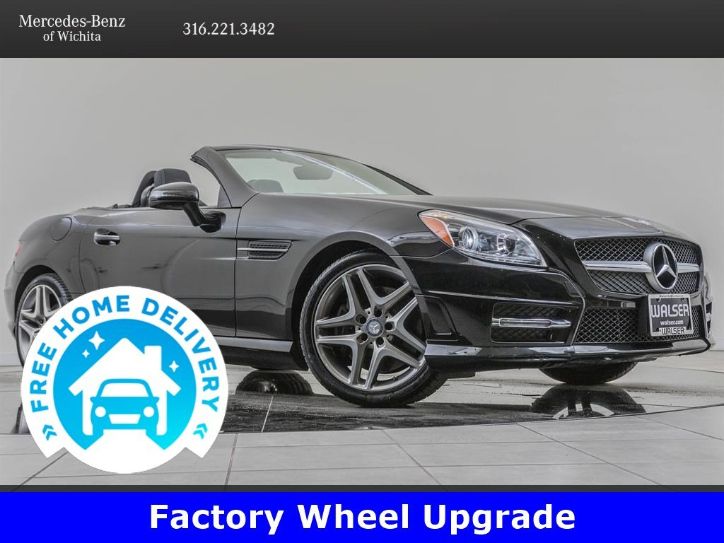 Pre-Owned 2016 Mercedes-Benz SLK SLK 350, Premium 2