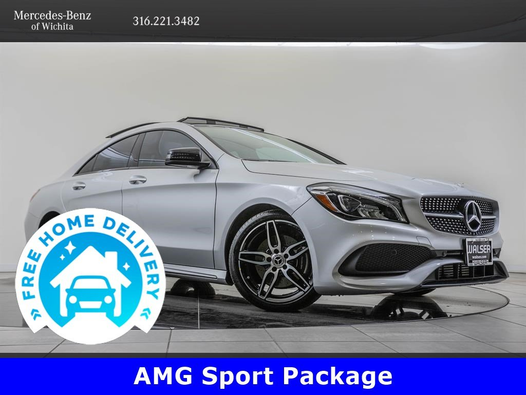 Pre-Owned 2019 Mercedes-Benz CLA AMG® Sport, Premium Package