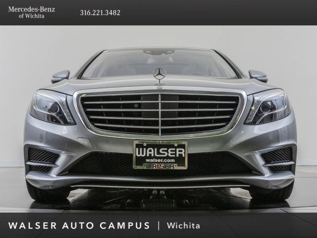 Pre-Owned 2015 Mercedes-Benz S-Class AWD 4MATIC 4dr Car