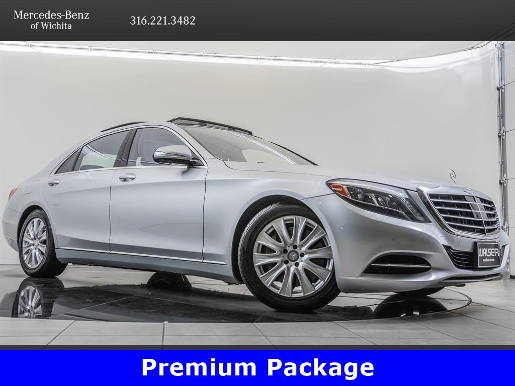 Pre-Owned 2015 Mercedes-Benz S-Class S 550 4MATIC®, Premium Package