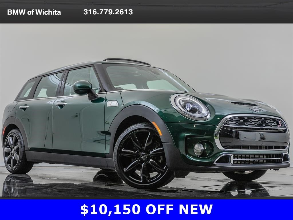 Pre-Owned 2019 MINI Clubman Cooper S, Iconic Trim Package