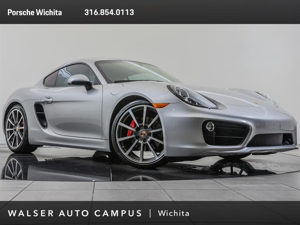 Pre-Owned 2014 Porsche Cayman S, Sport Chrono, Premium Package