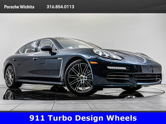 Pre-Owned 2015 Porsche Panamera 4S Executive, Upgraded 911 Wheels