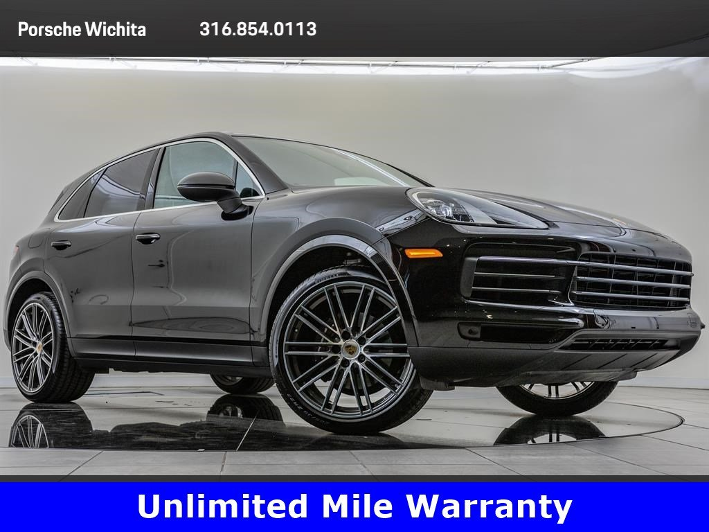 Pre-Owned 2019 Porsche Cayenne Factory Wheel Upgrade