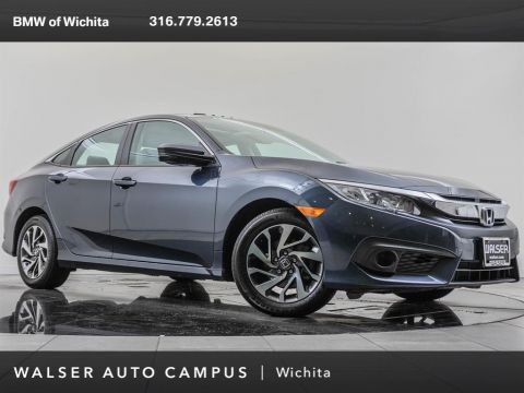 Pre-Owned 2017 Honda Civic Sedan EX Honda Sensing