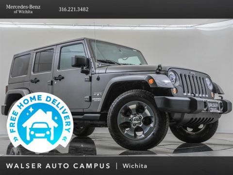 Pre-Owned 2017 Jeep Wrangler Unlimited Sahara Package