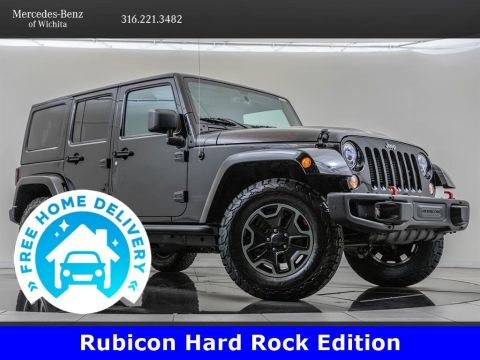 Pre-Owned 2017 Jeep Wrangler Unlimited Rubicon Hard Rock Edition 24J